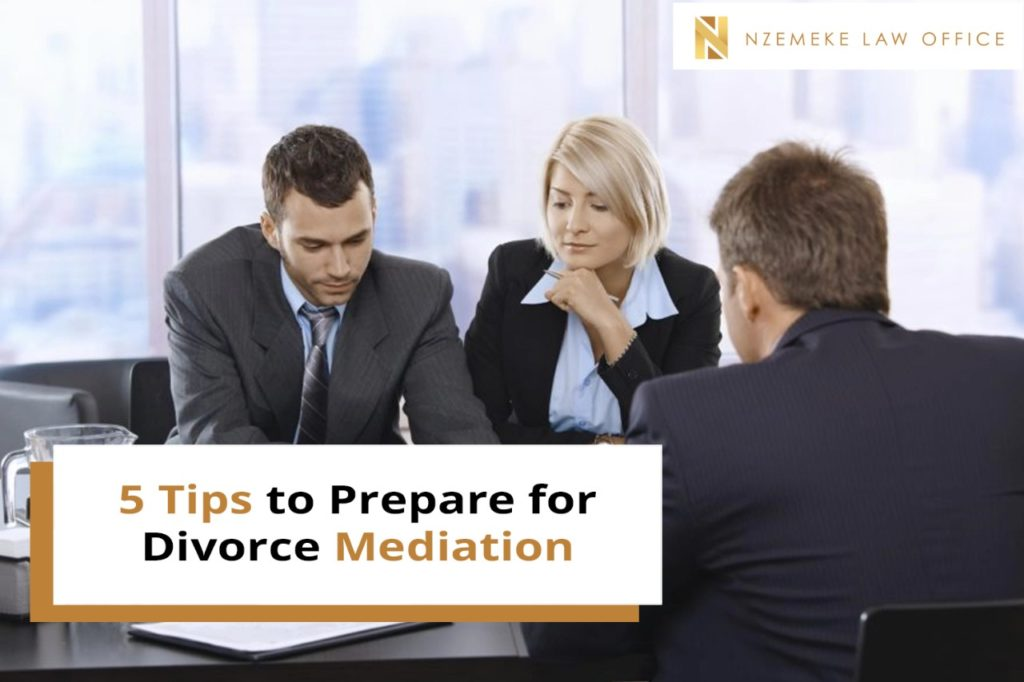 5 Tips to Prepare for Divorce Mediation