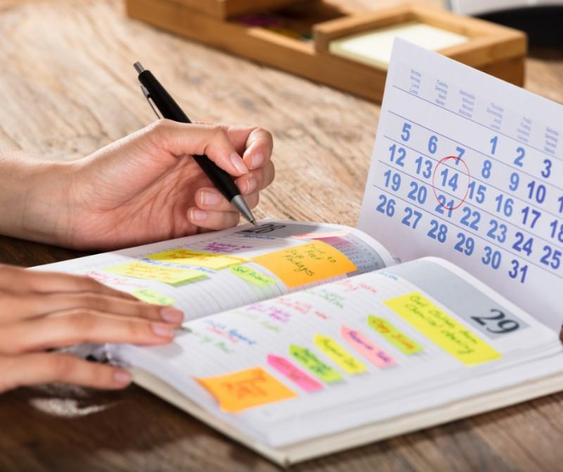 Help the Children understand Their Schedule